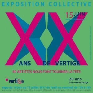 Exposition collective Galerie Vertige 2017